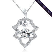 JP0542- New Design Necklace Women Accessories White Gold Color Jewelry Made of Silver 925