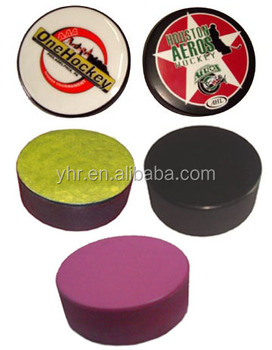 2015 New Custom Ice Hockey Puck with different colour&logo