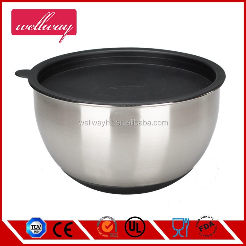 Stainless Steel Salad Bowls , For Casual Or Formal Use