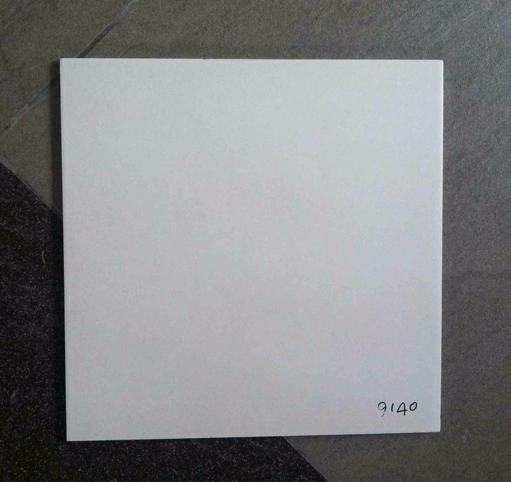 400x400mm full body gray rak porcelain glazed interior floor tile