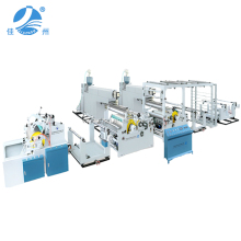 High Effiiency Non-stop Roll Changing BOPP Film Lamination PP Woven Bag Coating Machine