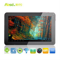 "Selling top 10 tablet!! Allwinner A13 Android 4.1 Rom 8GB tablet pc hi pad 9"" MV90."