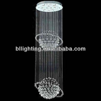 Modern stair fancy hanging crystal decoration