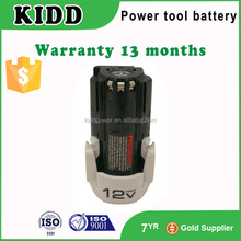 Hot sale LB12 power tool battery 12V 13.2Wh 1500mAh