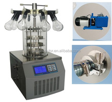 Toption Lyophilizer/ vacuum freeze drying machine suppliers /mini food processing for drying