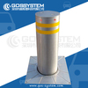 Full Automatic Rising, Retractable And Hydraulic Bollards With LED Light