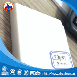 100% virgin material 8-80mm thick Teflon stock PTFE sheet