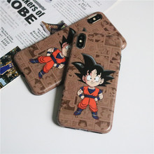 free shipping ready to ship cartoon dragon ball <strong>Z</strong> one piece slam dunk custom phone case for iphone