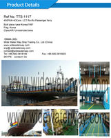 TTS-1117:Korea blt 450PAX+43Cars LCT Ro-Ro passenger ship for sale