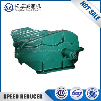 High torque speed reducer for pulley gearbox driven by belt