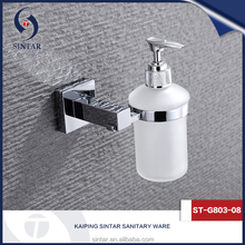 Luxury wall mounted stainless steel shower dispenser
