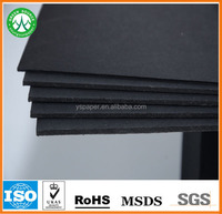 300gsm recycled black paper/ black paperboard