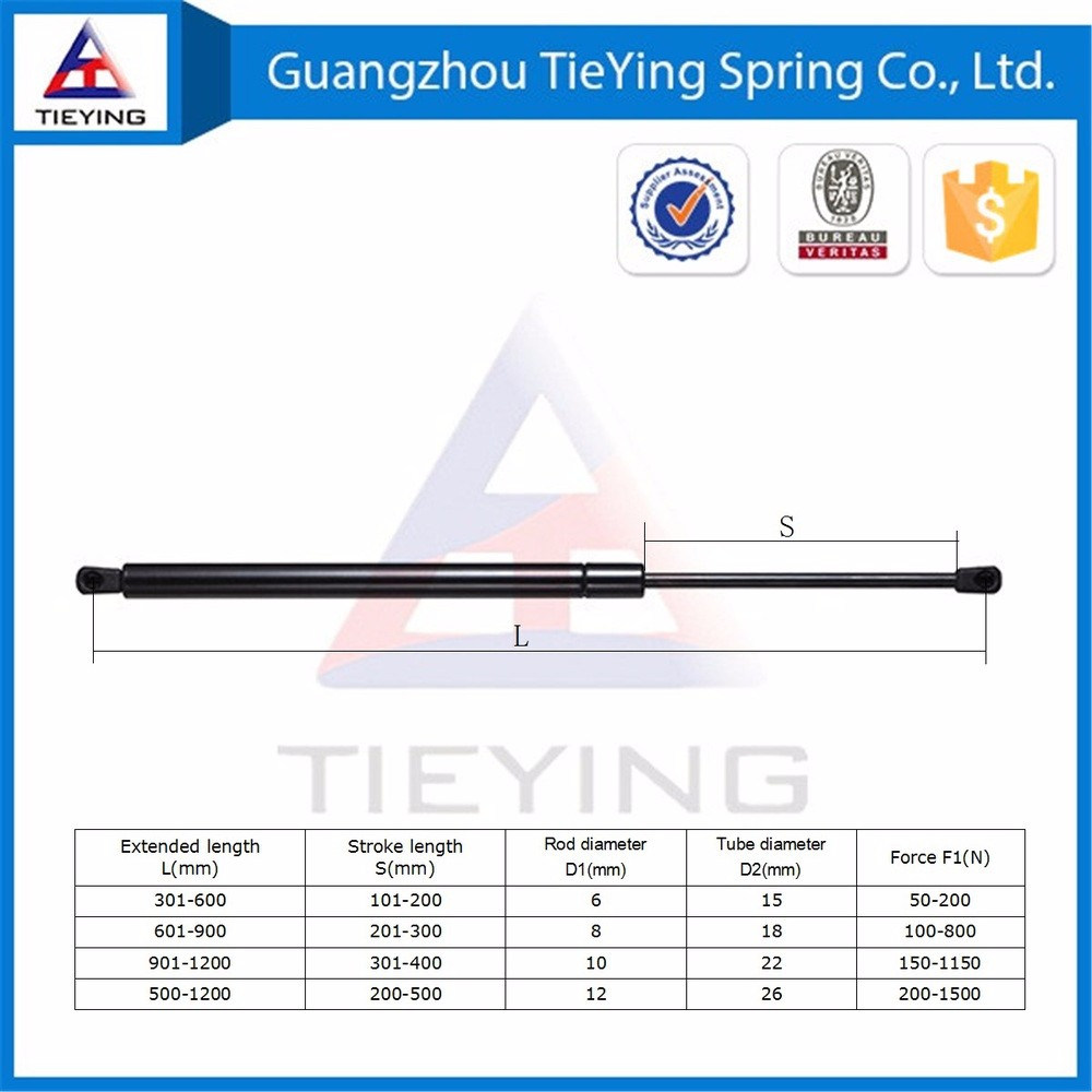 car spare parts gas lift supports bar