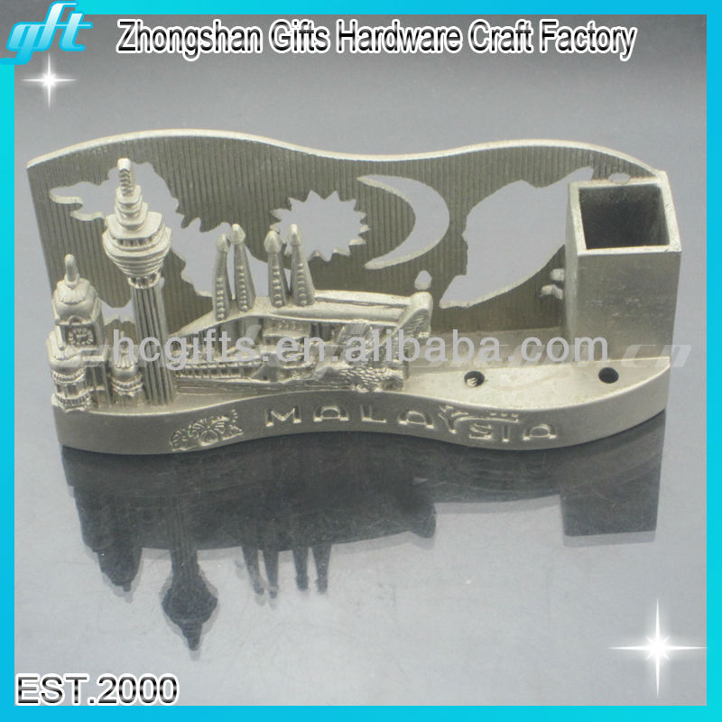 2014 New products metal table cardholder, emboss business table cardholder, 3D design bussiness cards
