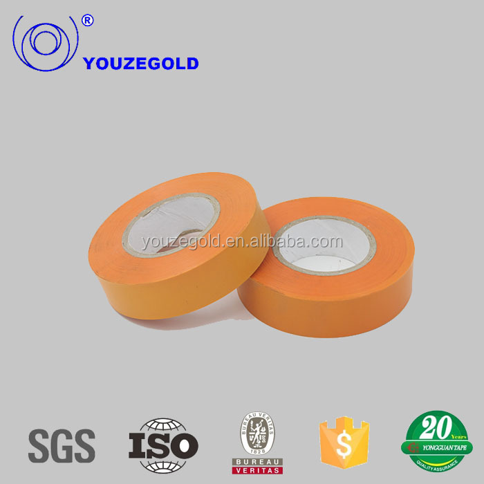 Decorative masking cotton fabric pvc electrical tape