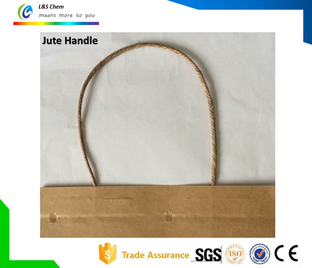 PP Cotton Paper Jute Rope Handle for Paper Bag