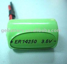 ER14250 Lithium Battery for Electric Products 3.6V 1200mAh