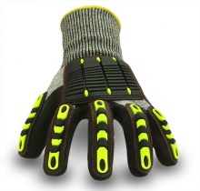 TPR Protective Impact Resist Mechanic Automotive Hand Work Gloves <strong>Safety</strong> For Construction Work