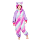 Sexy Panda Kid Onesie Pajamas Flannel  Sleepwear Kigurumi Animal Costumes