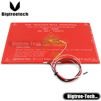 New MK2A 300*200*2.0mm 3d printer RepRap RAMPS 1.4 PCB Heat bed +LED+Resistor+cable+100k ohm Theristors S101+CC