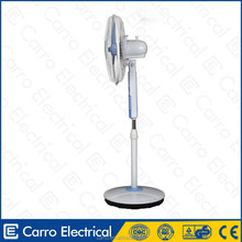 2014 dc air cooler rechargeable fan in india CE-12V16E AC/DC rechargeable fan small rechargeable fans with LED light