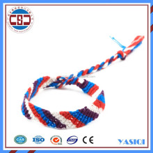 Wholesale fashion jewellery colorful rope charm braied bracelet cheap jewelry online for sex women