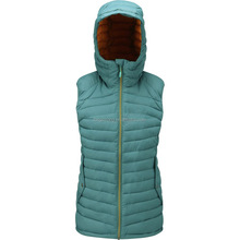 LS-207 Women hooded down outdoor vest