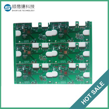 Custom 0.5mm fr4 6 layer 1 oz copper thickness pcb manufacturer
