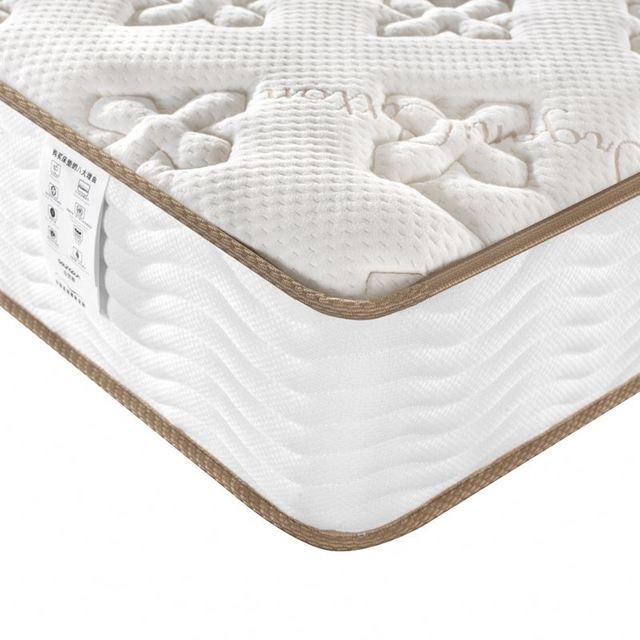 Wholesale Pillow Top Gel Memory Foam mattress Euro Top Pocket Spring Mattress Latex Mattress Topper