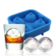 LFGB/SGS food grade silicone ice ball for whisky
