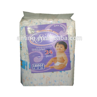 China Best selling super soft disposable Baby Diaper with Private Label