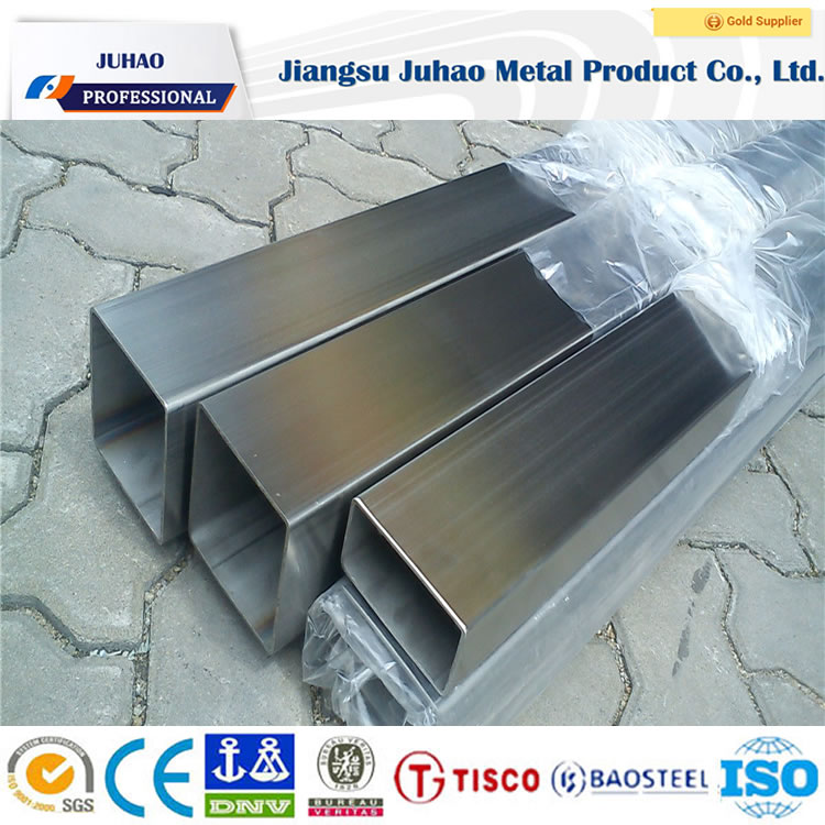 317 stainless steel square pipe with resistance to the pitting corrosion