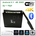 Smart TV Box quad Core Android 5.1 android quad core tv box 4k tv box internet tv box