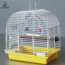 Eco-friendly Powder Coating Wire Cage Foldable Chinese Bird Cage