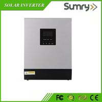 Hot sale 1kva 2kva 3kva 4kva 5kva pure sine wave hybrid solar inverter with charge controller
