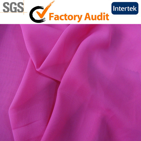 Shaoxing Keqiao 100% Polyester Fabric Dyed
