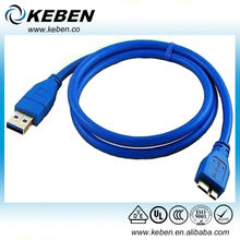 Extension Cable USB 3.0 Cable to Micro B male USB C able