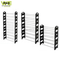 Shoe rack organizer vintage standard size adjustable 50 pair shoe rack