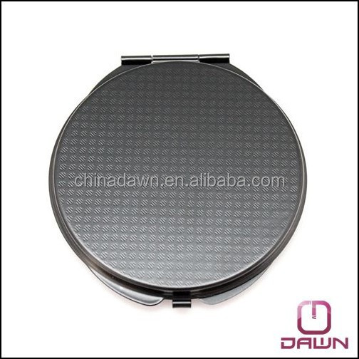 New design coloful metal frame pocket mirror with logo printing CD-MG083