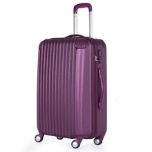 ABS 3 pcs set eminent aircraft airplane wheel hard shell drawbar factory plastic travel trolley luggage bag
