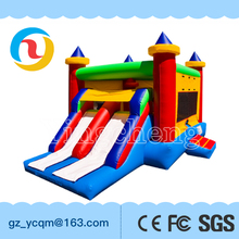 High quality OEM / ODM residential inflatable jump bouncy castle inflatable kids bouncer castle with slide