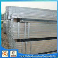 Multifunctional thin wall galvanized square steel pipe for wholesales