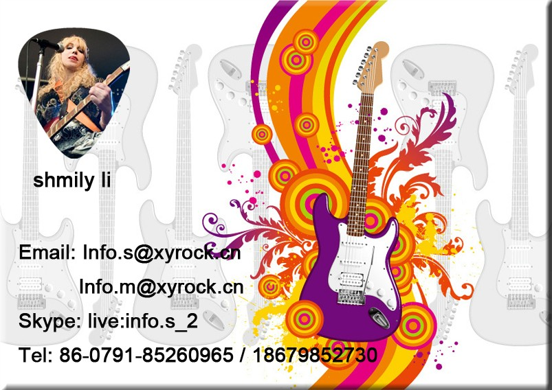 High Quality New Logo Design Guitar Picks Custom Your Personal Brand Guitar Picks