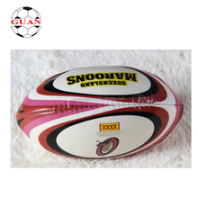 PVC Leather manufacturer rugby league foam footballs size 5