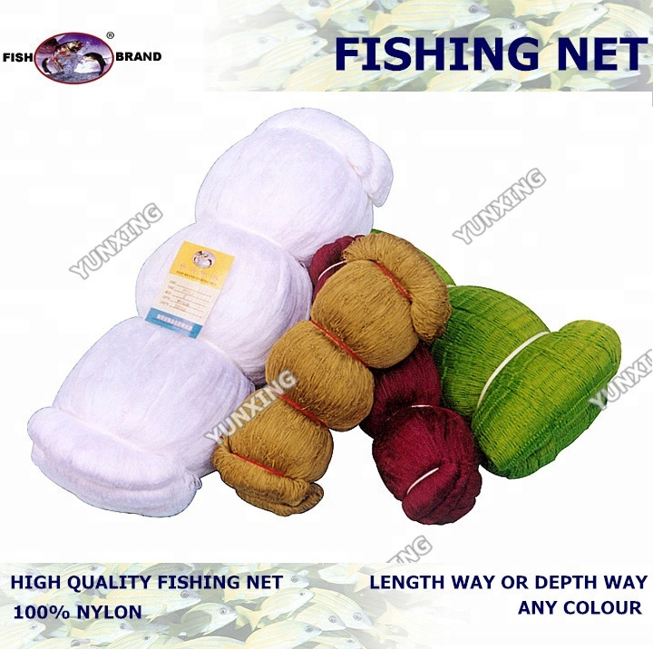 nylon multifilament fishing net factory china