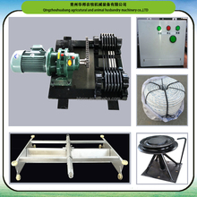 automatic manure removal scraper Feces cleaning machine for poultry fram house