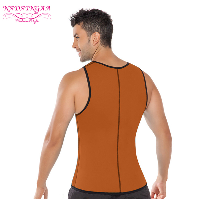 body shaping clothing men's waist trainer for weight loss
