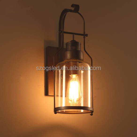 wall decorations Interior lighting vintage rustic lighting American Style candle wall sconces