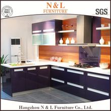 2016 guangzhou custom white lacquer affordable high gloss cebu philippines furniture kitchen cabinet