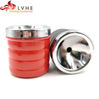 T026AP LVHE Hign Quality Unique Design Small Wholesale Metal Ashtray With Lid